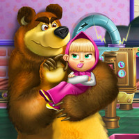 بازی آنلاین جدید دخترانه ماشا و خرس