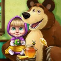 بازی فلش دخترانه ماشا و خرس