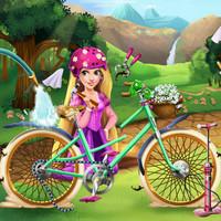 بازی دخترانه دوچرخه راپانزل