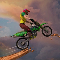 بازی موتور سواری سه بعدی Sky Bike Stunt 3D