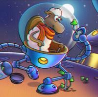 بازی بره ناقلا جدید فضایی