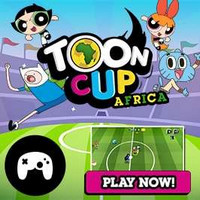 بازی کارتونی فوتبال آفریقا