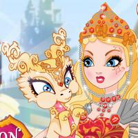 بازی دخترانه بچه اژدهای جادویی