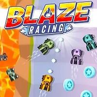 بازی ماشین مسابقه آتش Blaze Racing