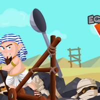 بازی منجنیق جنگ مصری با مومیایی