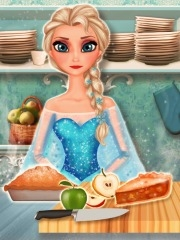 بازی دخترانه کیک سیب السا