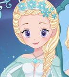 بازی دخترانه ملکه یخی
