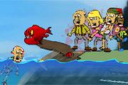 بازی ماهی آدمخوار-جزیره گم شده
