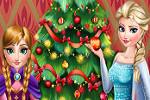 بازی دخترانه درخت کریسمس