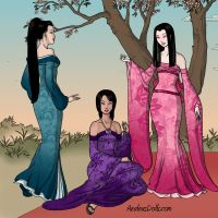 بازی دختران چینی