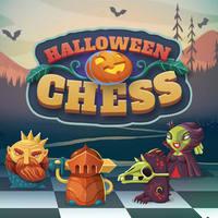 بازی شطرنج هالووین