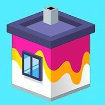 بازی آنلاین نقاشی ساختمان House Paint