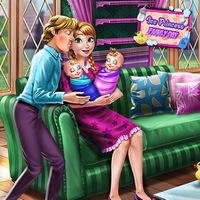 بازی دخترانه بچه داری جدید