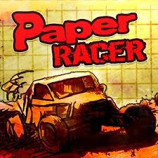 بازی ماشین مسابقه کاغذی