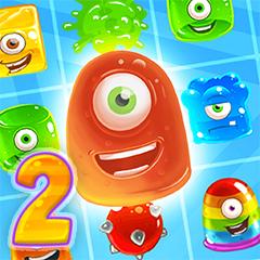 بازی ژله های رنگی Jelly Madness