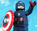 بازی لگو کاپیتان آمریکایی