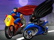 بازی مسابقه بتمن و سوپرمن