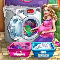 بازی آنلاین دخترانه لباسشویی