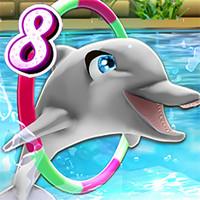 بازی نمایش دلفین من 8