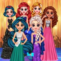 بازی دخترانه پرنسس Perfect Prom Night Look
