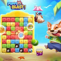 بازی سه تایی همرنگ ها PUPPY BLAST