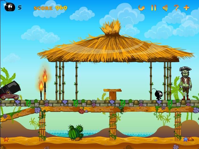 بازی معمایی بمب  سیاه