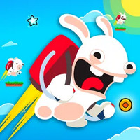 بازی مسابقه خرگوشهای وحشی Rabbids Wild Race
