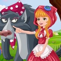 بازی دخترانه آرایش شنل قرمزی
