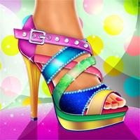 بازی طراحی کفش دخترانه آنلاین زیبا