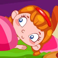 بازی دخترانه بازیگوشی در خواب