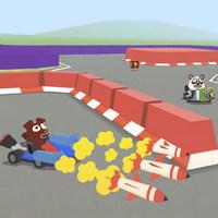 بازی چند نفره ماشین جنگیSmash Karts