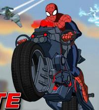 بازی مرد عنکبوتی موتورسوار