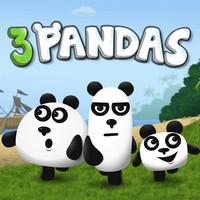 بازی سه پاندا در جنگل جدید