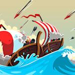 بازی جنگ در ساحل دریا