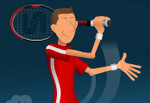 بازی ورزشی تنیس