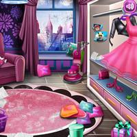 بازی دخترانه تمیز کردن خانه