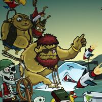 بازی آنلاین دزدان دریایی و زامبی ها